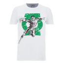 DC Comics Men's Green Arrow Punch T-Shirt - White