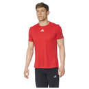 adidas Men's Sequencials Climalite Running T-Shirt Red S