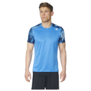 adidas Men's Response Graphic Running T-Shirt Blue XS