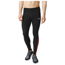 adidas Men's Response Long Running Tights Black-Red XL