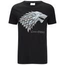 Game of Thrones Men's Stark Sigil T-Shirt - Black