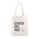 Cardiohno 创意标语帆布健身包