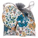 Holistic Silk Anti-Ageing Eye Mask Pillow Case Gift Set – Blue