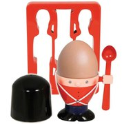 Soldier Egg Cup And Toast Cutter