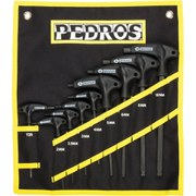 Pedro's Pro T-Handle Hex Wrench Set