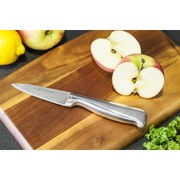 Morphy Richards Accents 5 Piece Knife Block Set - Red
