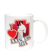 Star Wars I Heart Princess Leia Mug