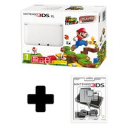 Nintendo 3DS XL White with SUPER MARIO 3D LAND Preinstalled (Limited Edition)