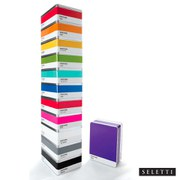 Seletti Pantone 268 Royal Purple Metal Storage Box