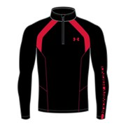 Under Armour Men's Cold Gear Infrared Thermo 1/4 Zip Top - Black