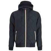 Brave Soul Men's Burt Quilted Jacket - Black