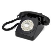 GPO 746 Retro Drehscheiben Telefon - Schwarz