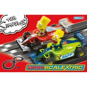 Micro Scalextric The Simpsons