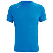 Skins Men's 360 Short Sleeve Tech Process Top - Blue