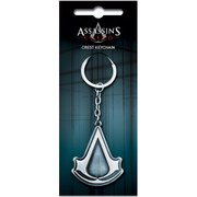 Assassin's Creed Brushed Metal Crest Key Chain