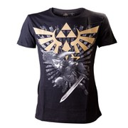 The Legend Of Zelda with Link - T-Shirt