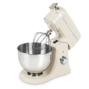 Morphy Richards Professional Diecast Stand Mixer with Guard - Cream