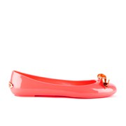 Ted Baker Women's Issan Bow Jelly Ballet Pump - Orange