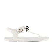 Ted Baker Women's Verona Bow Jelly Sandals - Cream/Black