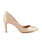 Ted Baker Women's Monirra Patent Leather Court Shoes - Nude