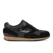 Paul Smith Shoes Men's Aesop Running Trainers - Black Mesh