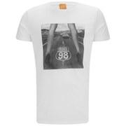 BOSS Orange Men's Temyo Crew Neck T-Shirt - White