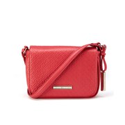 Tommy Hilfiger Dominique Flap Cross Body Bag - Hibiscus