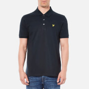 Lyle & Scott Vintage Men's Short Sleeve Pique Polo Shirt - New Navy