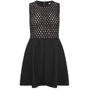 Carven Women's Organza Dress - Black