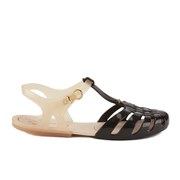 Vivienne Westwood for Melissa Women's Aranha Hits Flat Sandals - Black Contrast