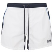 BOSS Hugo Boss Men's Snapper Swim Shorts - White