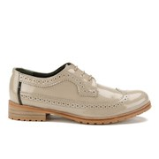 Barbour Women's Ellen Patent Brogues - Taupe