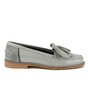 Barbour Women's Amber Suede Tassel Loafers - Soft Grey