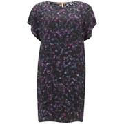 BOSS Orange Women's Astampa Shift Dress Silk Mix - Multi