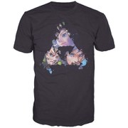 The Legend of Zelda - Triangles Faces Men's T-Shirt (Black)