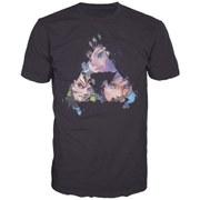 The Legend of Zelda - Triangles Faces Men's T-Shirt (Black) - M