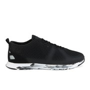 Ransom Men's Path Lite No Sew Trainers - Black/Black White Marble