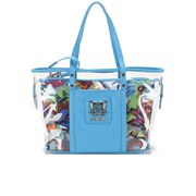 Love Moschino Women's Jungle Print Tote Bag - White