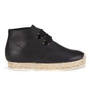 Miista Women's Claudine Espadrille Ankle Boots - Black