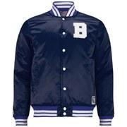 Billionaire Boys Club Men's Reversible Satin Jacket - Navy