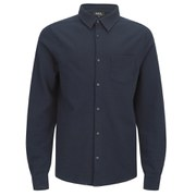 A.P.C. Men's Rolland Pique Shirt - Dark Navy