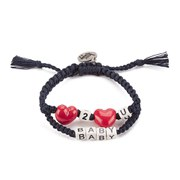 Venessa Arizaga Women's Love 2 Love U Baby Bracelet - Midnight Blue