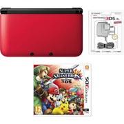Nintendo 3DS XL Red/Black Super Smash Bros. For Nintendo 3DS Pack