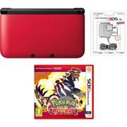 Nintendo 3DS XL Red/Black Pokémon Omega Ruby Pack