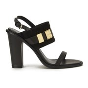 See by Chloe Women's Leather/Suede Heeled Sandals - Black