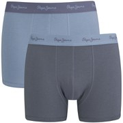 Pepe Jeans Men's Camden 2 Pack Boxers - LT Thames/Sterling