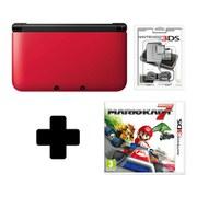 Nintendo 3DS XL Red/Black Mario Kart 7 Pack
