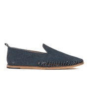H Shoes by Hudson Men's Ramos Suede Slip On Shoes - Navy