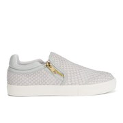 Ash Women's Intense Leather Skater Trainers - Marble