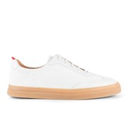Oliver Spencer Men's Upper St. Suede Trainers - Cream